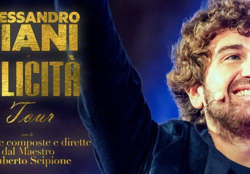 """Alessandro Siani apre il festival """"Benevento città spettacolo"""" con il suo """"Felicità tour"""""""