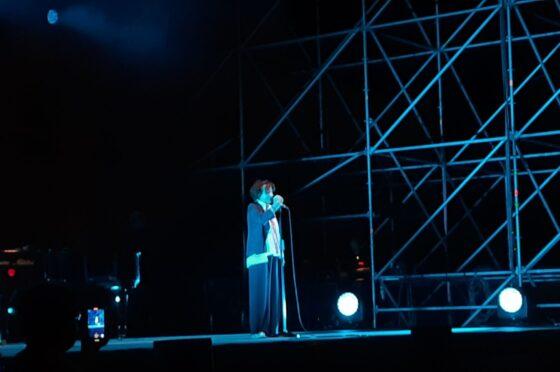 Gianna Nannini in concerto a Benevento chiude il BCS 2021